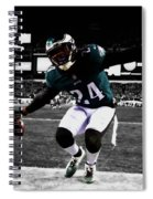 Philadelphia Eagles 5a Spiral Notebook