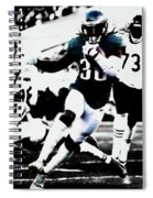 Philadelphia Eagles 5b Spiral Notebook