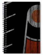 Philadelphia Flyers Wood Fence Spiral Notebook