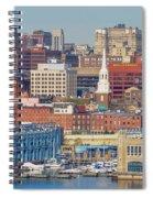 Philadelphia - From The Ben Franklin Bridge Spiral Notebook