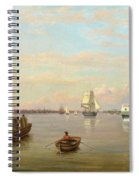 Philadelphia Harbor Spiral Notebook