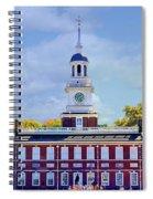 Philadelphia Landmark Spiral Notebook