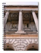 Philadelphia Library Pillars Spiral Notebook