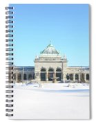 Philadelphia - Memorail Hall In Winter Spiral Notebook