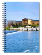 Philadelphia Museum Of Art And The Philadelphia Waterworks Spiral Notebook