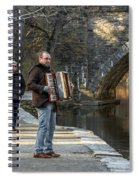 Philadelphia Music Man Spiral Notebook
