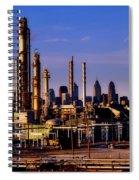 Philadelphia Oil Refinery  Spiral Notebook