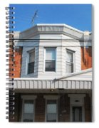 Philadelphia Row Houses Spiral Notebook