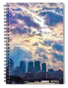 Philadelphia Sky Spiral Notebook