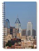Philadelphia Standing Tall Spiral Notebook