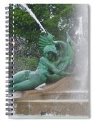 Philadelphia - Swann Memorial Fountain - Logan Square Spiral Notebook