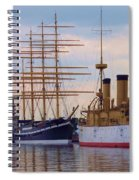 Philadelphia Waterfront Olympia Spiral Notebook