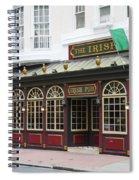 Philadelphia's Famous Irish Pub Spiral Notebook