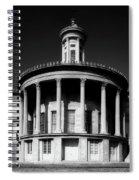 Philadelphia's Merchant Exchange Building Spiral Notebook