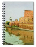 Philae On The Nile Spiral Notebook