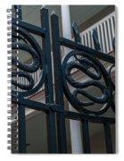 Phillips Simmons Snake Gate Spiral Notebook
