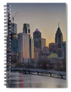 Philly Before Dawn From South Street Spiral Notebook