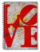 Philly Love V1 Spiral Notebook