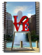 Philly Love Spiral Notebook