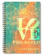 Philly Love V10 Spiral Notebook