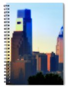 Philly Morning Spiral Notebook