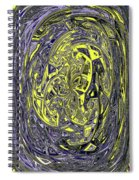 Phoenix Building Abstract #2771e2abcd Spiral Notebook