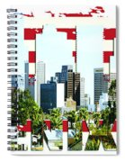 Phoenix City Skyline Spiral Notebook