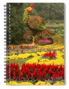Phoenix In Summer Palace Spiral Notebook