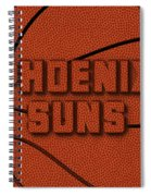 Phoenix Suns Leather Art Spiral Notebook
