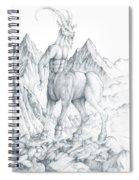 Pholus The Centauras Spiral Notebook