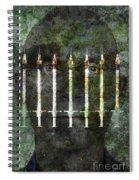 Photo Illustration Depicting Drug Spiral Notebook