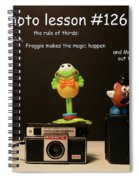 Photo Lesson  Spiral Notebook