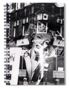 Photograph Of Marilyn Spiral Notebook