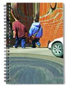 Photographer Couldn't Resist Spiral Notebook