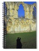 Photographers Shadow Spiral Notebook