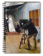 Photography Studio, C1878 Spiral Notebook