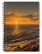 Photo's Of Tenerife - La Caleta Sunset Spiral Notebook