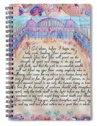 Physician Prayer- English Version Spiral Notebook