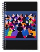 Piaf Aka A Tribute To Edith Piaf Spiral Notebook
