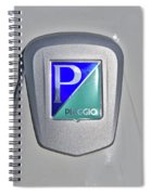 Piaggio Cycles Spiral Notebook