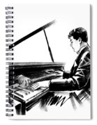 Pianist Spiral Notebook