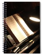 Piano Bar Spiral Notebook
