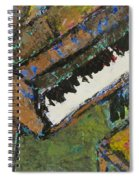 Piano Close Up 1 Spiral Notebook