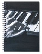 Piano Hands Plus Metronome Spiral Notebook