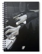 Piano Hands Spiral Notebook
