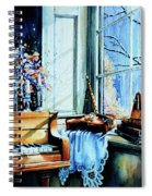 Piano In The Sun Spiral Notebook