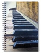 Piano Perspective Spiral Notebook