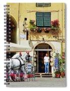Piazza Anfiteatro Spiral Notebook