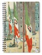 Piazza Di San Marco Spiral Notebook