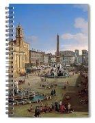 Piazza Novona - Rome Spiral Notebook